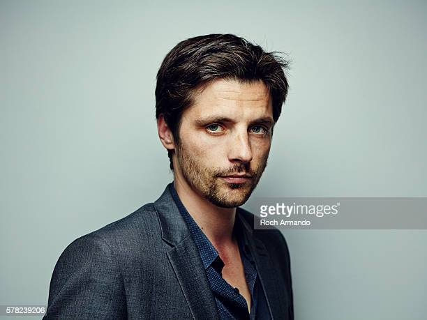Actor Raphael Personnaz is photographed for Self Assignment on June 21 2015 in Cabourg France