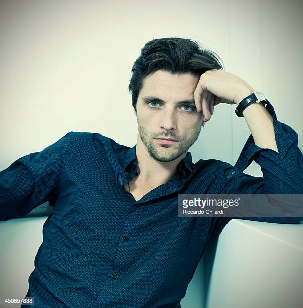 Actor Raphael Personnaz is photographed on April 3 2014 in Rome Italy