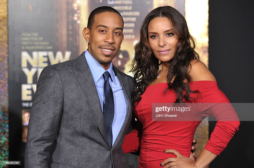 Actor/ rapper Chris <a gi-track='captionPersonalityLinkClicked' href=/galleries/search?phrase=Ludacris&family=editorial&specificpeople=203034 ng-click='$event.stopPropagation()'>Ludacris</a> Bridges and Eudoxie arrive to the Premiere Of Warner Bros. Pictures' 'New Year's Eve' at Grauman's Chinese Theatre on December 5, 2011 in Hollywood, California.
