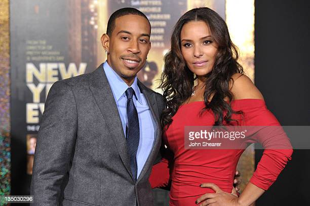 Actor/ rapper Chris Ludacris Bridges and Eudoxie arrive to the Premiere Of Warner Bros Pictures' 'New Year's Eve' at Grauman's Chinese Theatre on...
