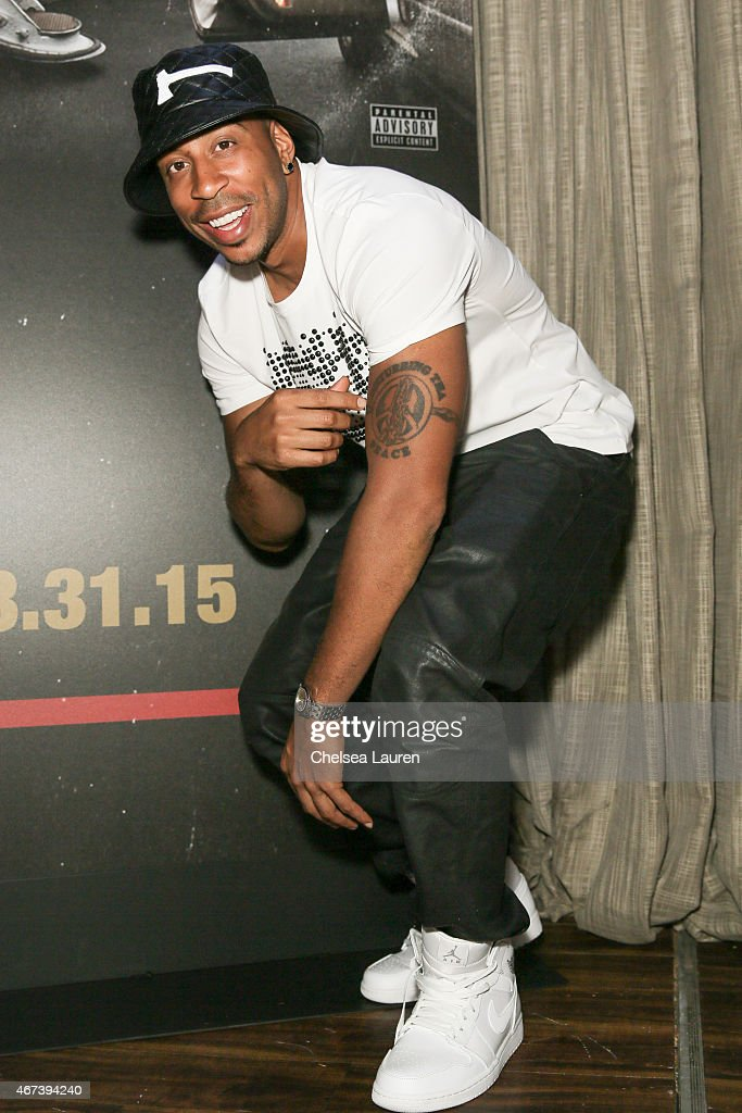 Actor / rapper <a gi-track='captionPersonalityLinkClicked' href=/galleries/search?phrase=Ludacris&family=editorial&specificpeople=203034 ng-click='$event.stopPropagation()'>Ludacris</a> attends the album release party for 'Ludaversal' on March 23, 2015 in Hollywood, California.