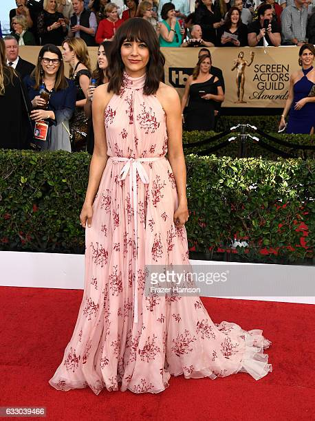 Actor Rashida Jones attends The 23rd Annual Screen Actors Guild Awards at The Shrine Auditorium on January 29 2017 in Los Angeles California 26592_008