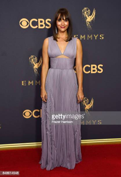 Actor Rashida Jones attends the 69th Annual Primetime Emmy Awards at Microsoft Theater on September 17 2017 in Los Angeles California