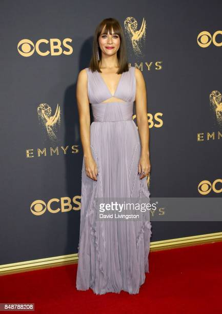 Actor Rashida Jones attends the 69th Annual Primetime Emmy Awards Arrivals at Microsoft Theater on September 17 2017 in Los Angeles California
