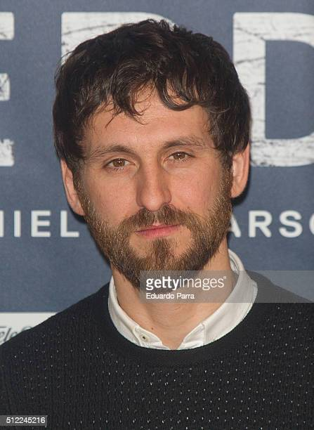 Actor Raul Arevalo attends 'Cien anos de perdon' photocall at Urso hotel on February 25 2016 in Madrid Spain