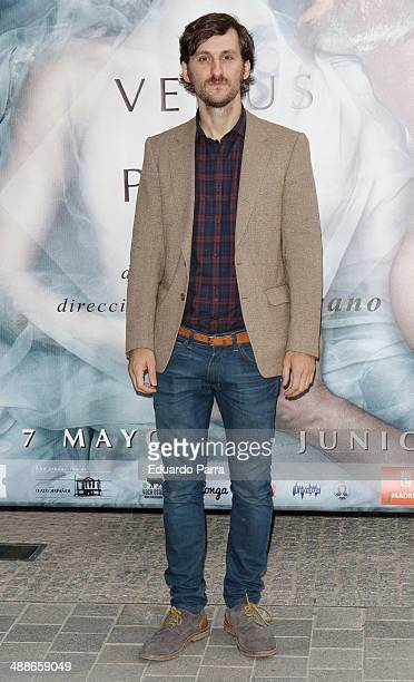 Actor Raul Arevalo attends 'La Venus de las pieles' premiere photocall at Matadero Madrid theatre on May 7 2014 in Madrid Spain