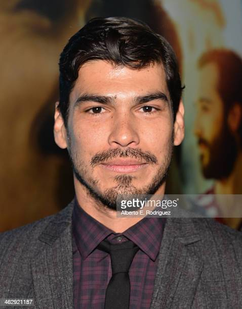 Actor Raul Castillo arrives to the premiere of HBO's 'Looking' at Paramount Theater on the Paramount Studios lot on January 15 2014 in Hollywood...