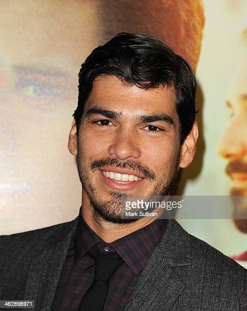 Actor Raul Castillo attends the Los Angeles Premiere of HBO's new series 'Looking' at Paramount Theater on the Paramount Studios lot on January 15...