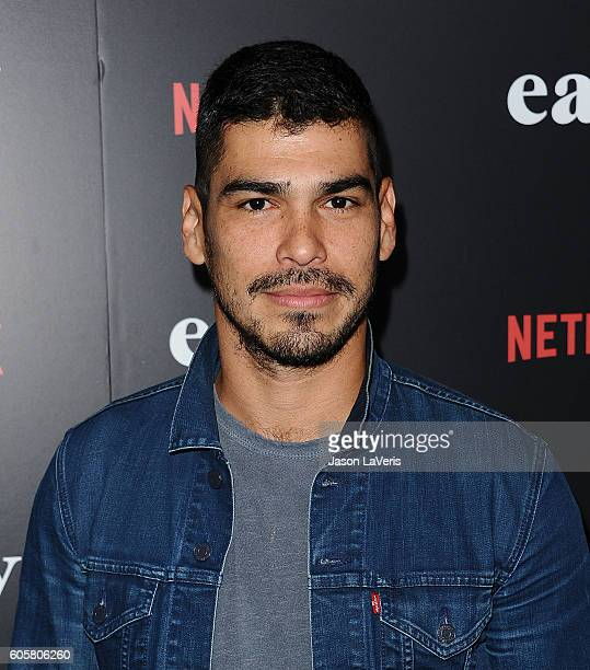Actor Raul Castillo attends the premiere of 'Easy' at The London Hotel on September 14 2016 in West Hollywood California