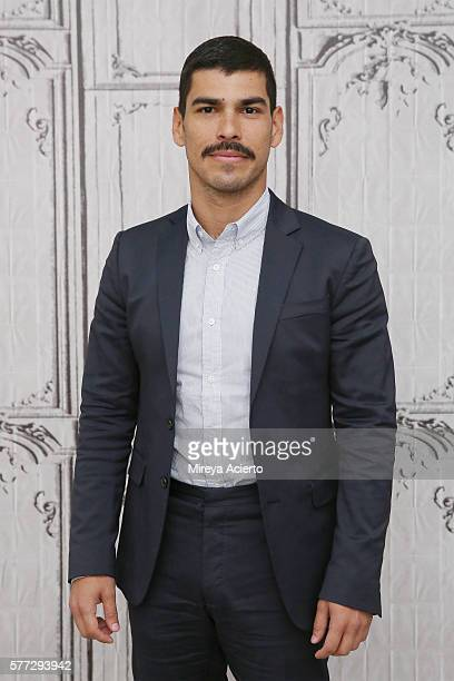 Actor Raul Castillo discusses 'Looking' during AOL Build Speaker Series at AOL HQ on July 18 2016 in New York City