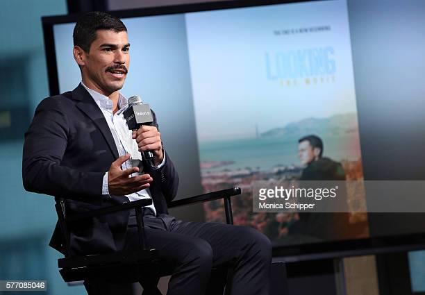 Actor Raul Castillo speaks at AOL Build Speaker Series Raul Castillo 'Looking' at AOL HQ on July 18 2016 in New York City