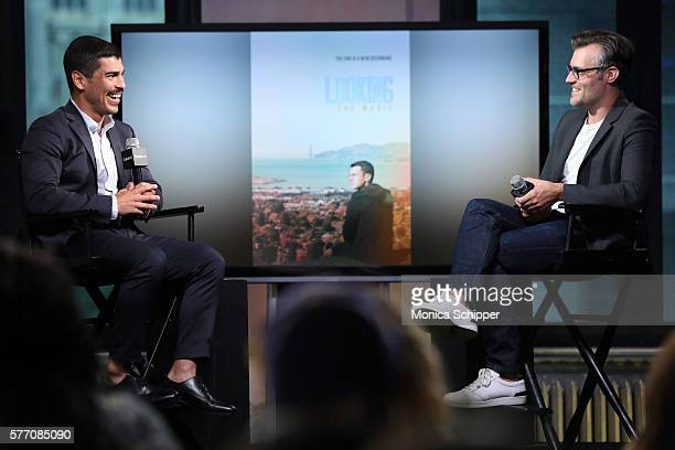 Actor Raul Castillo speaks with Ricky Camilleri at AOL Build Speaker Series Raul Castillo 'Looking' at AOL HQ on July 18 2016 in New York City