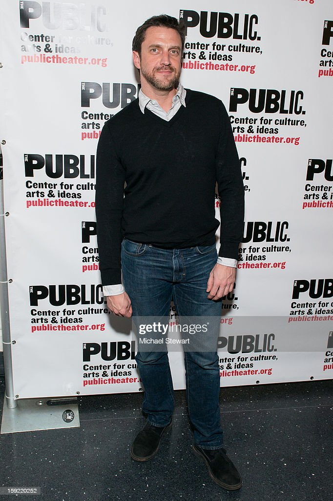 Actor Raul Esparza attends the Under The Radar Festival 2013 Opening Night Celebration at The Public Theater on January 9, 2013 in New York City.