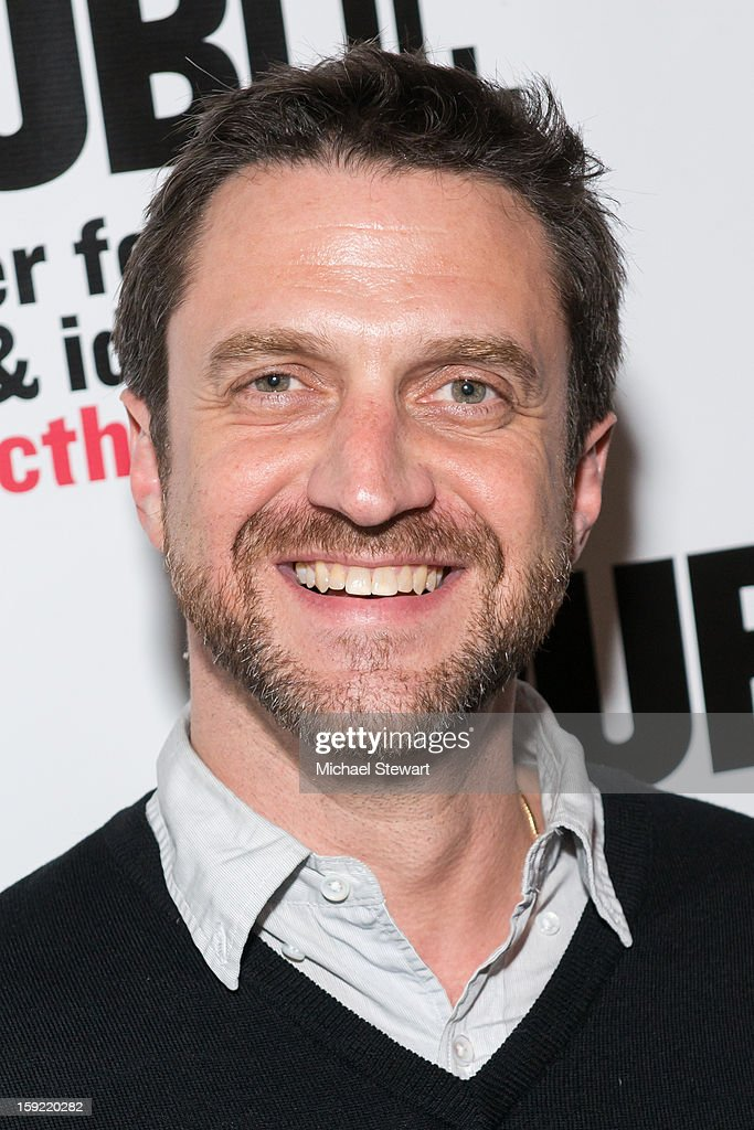 Actor <a gi-track='captionPersonalityLinkClicked' href=/galleries/search?phrase=Raul+Esparza&family=editorial&specificpeople=214060 ng-click='$event.stopPropagation()'>Raul Esparza</a> attends the Under The Radar Festival 2013 Opening Night Celebration at The Public Theater on January 9, 2013 in New York City.