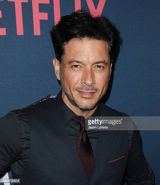 Actor Raul Mendez attends the season 2 premiere of 'Narcos' at ArcLight Cinemas on August 24 2016 in Hollywood California