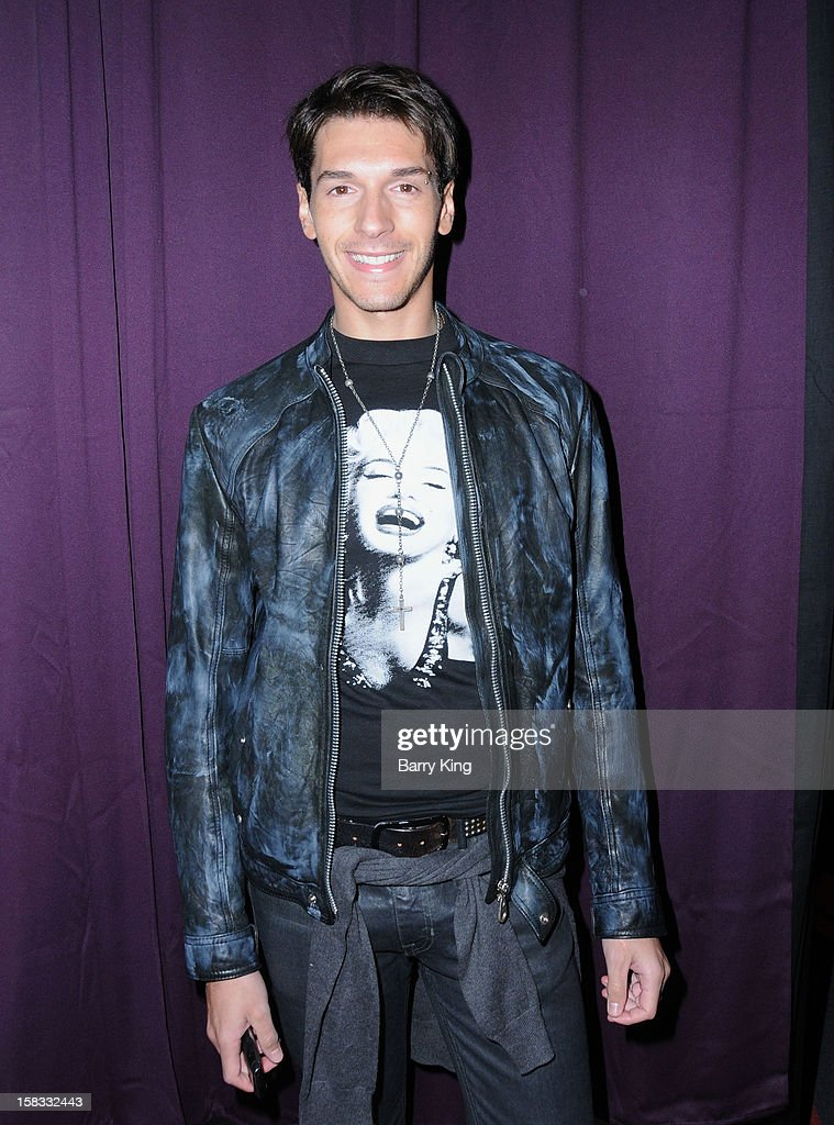 Actor Raul Ramos attends the WHO CED In-Store Holiday Launch Party at Brigade LA on December 12, 2012 in Los Angeles, California.