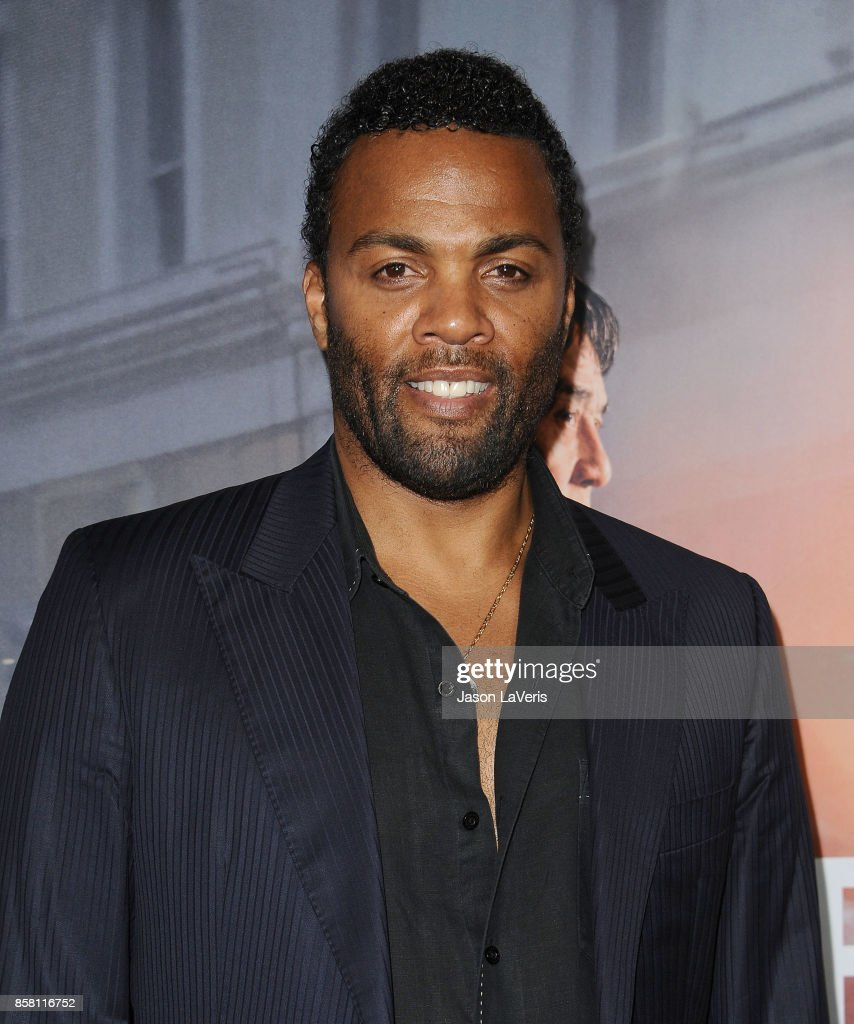 Actor Ray Fearon attends the premiere of 'The Foreigner' at ArcLight Hollywood on October 5, 2017 in Hollywood, California.