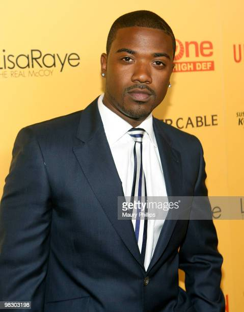 Actor Ray J arrives at 'LisaRaye The Real McCoy' Premiere Screening Launch Party at The Standard Hotel on April 6 2010 in Los Angeles California
