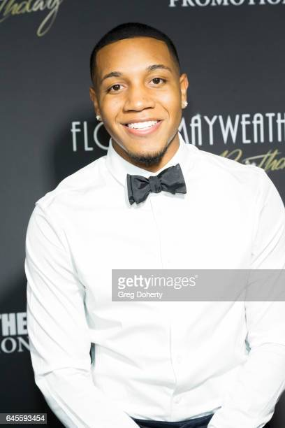 Actor Ray Jordon attends Floyd Mayweather's 40th Birthday Celebration on February 25 2017 in Los Angeles California