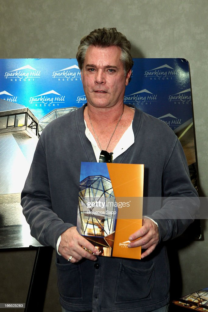 Actor <a gi-track='captionPersonalityLinkClicked' href=/galleries/search?phrase=Ray+Liotta&family=editorial&specificpeople=211136 ng-click='$event.stopPropagation()'>Ray Liotta</a> at GBK Gift Lounge In Honor Of The MTV Movie Award Nominees And Presenters - Day 2 at W Hollywood on April 13, 2013 in Hollywood, California.
