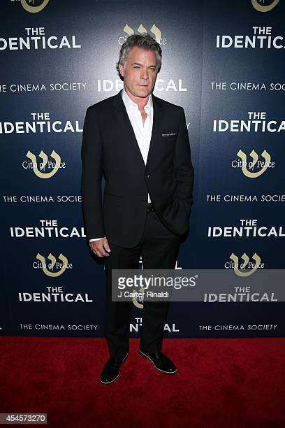 Actor Ray Liotta attends the City Of Peace Films with The Cinema Society host the premiere of 'The Identical' at SVA Theater on September 3 2014 in...
