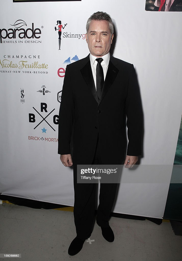 Actor <a gi-track='captionPersonalityLinkClicked' href=/galleries/search?phrase=Ray+Liotta&family=editorial&specificpeople=211136 ng-click='$event.stopPropagation()'>Ray Liotta</a> attends the Critics' Choice Movie Awards 2013 with Evian at Barker Hangar on January 10, 2013 in Santa Monica, California.
