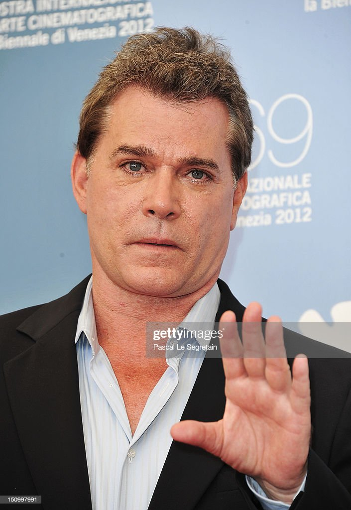 Actor Ray Liotta attends 'The Iceman' photocall during the 69th Venice Film Festival at the Palazzo del Casino on August 30 2012 in Venice Italy