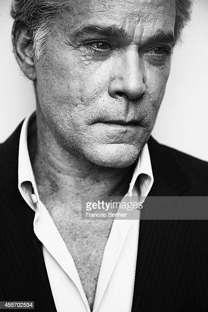 Actor Ray Liotta is photographed for Self Assignment on September 9 2014 in Deauville at Villa Cartier France