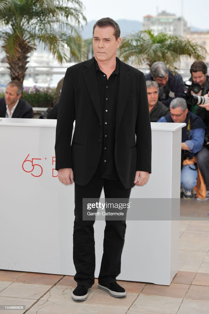 Actor Ray Liotta pose at the 'Killing Them Softly' photocall during the 65th Annual Cannes Film Festival at Palais des Festivals on May 22, 2012 in Cannes, France.