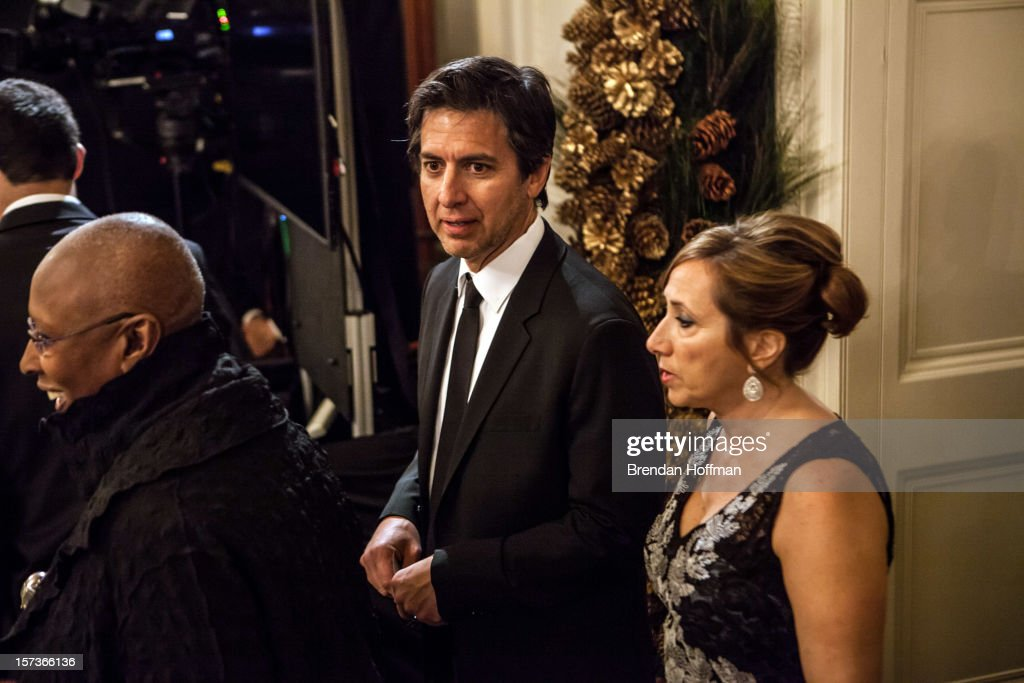 Actor <a gi-track='captionPersonalityLinkClicked' href=/galleries/search?phrase=Ray+Romano&family=editorial&specificpeople=201675 ng-click='$event.stopPropagation()'>Ray Romano</a> arrives at the Kennedy Center Honors reception at the White House on December 2, 2012 in Washington, DC. The Kennedy Center Honors recognized seven individuals - Buddy Guy, Dustin Hoffman, David Letterman, Natalia Makarova, John Paul Jones, Jimmy Page, and Robert Plant - for their lifetime contributions to American culture through the performing arts.