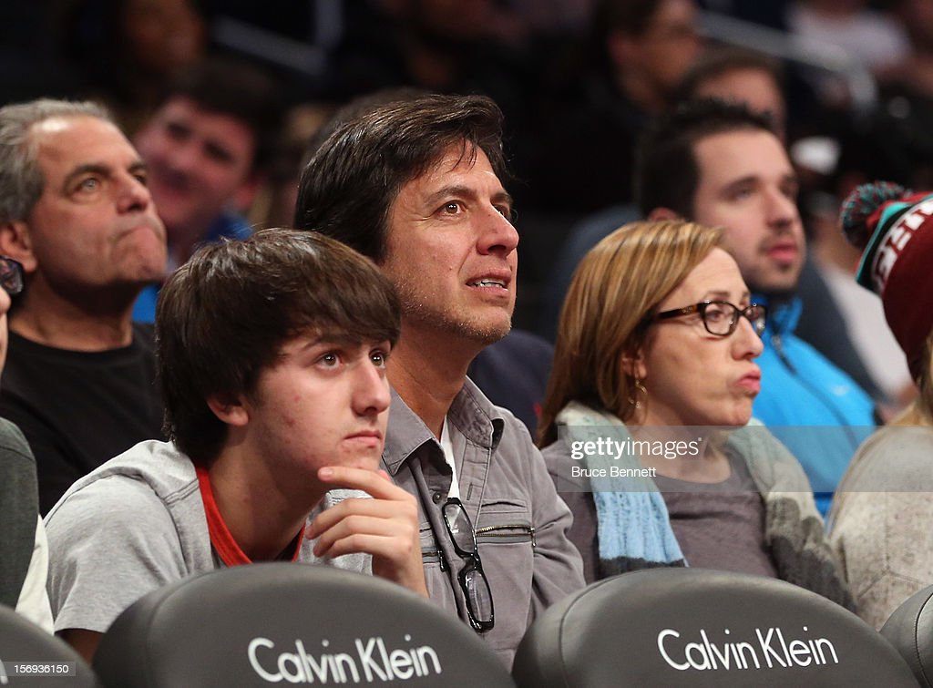 Actor <a gi-track='captionPersonalityLinkClicked' href=/galleries/search?phrase=Ray+Romano&family=editorial&specificpeople=201675 ng-click='$event.stopPropagation()'>Ray Romano</a> attends the game between the Brooklyn Nets and the Los Angeles Clippers at the Barclays Center on November 23, 2012 in the Brooklyn borough of New York City.