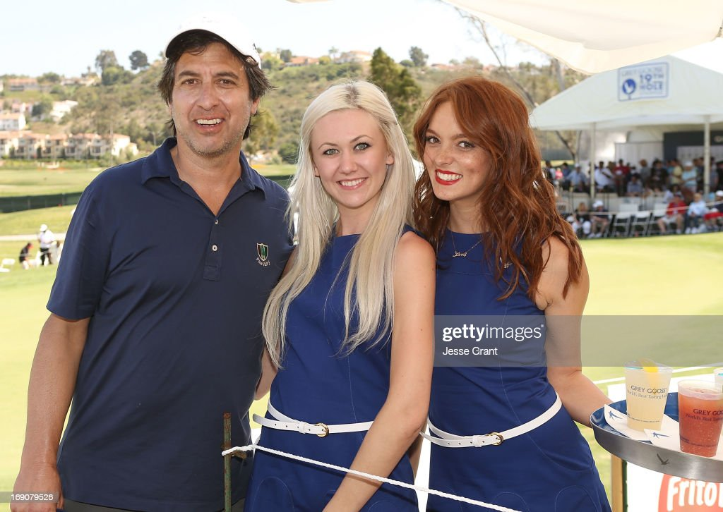 Actor <a gi-track='captionPersonalityLinkClicked' href=/galleries/search?phrase=Ray+Romano&family=editorial&specificpeople=201675 ng-click='$event.stopPropagation()'>Ray Romano</a> (L) attends the Marshall Faulk Celebrity Golf Championship Presented by GREY GOOSE held at La Costa Resort & Spa on May 19, 2013 in Carlsbad, California.