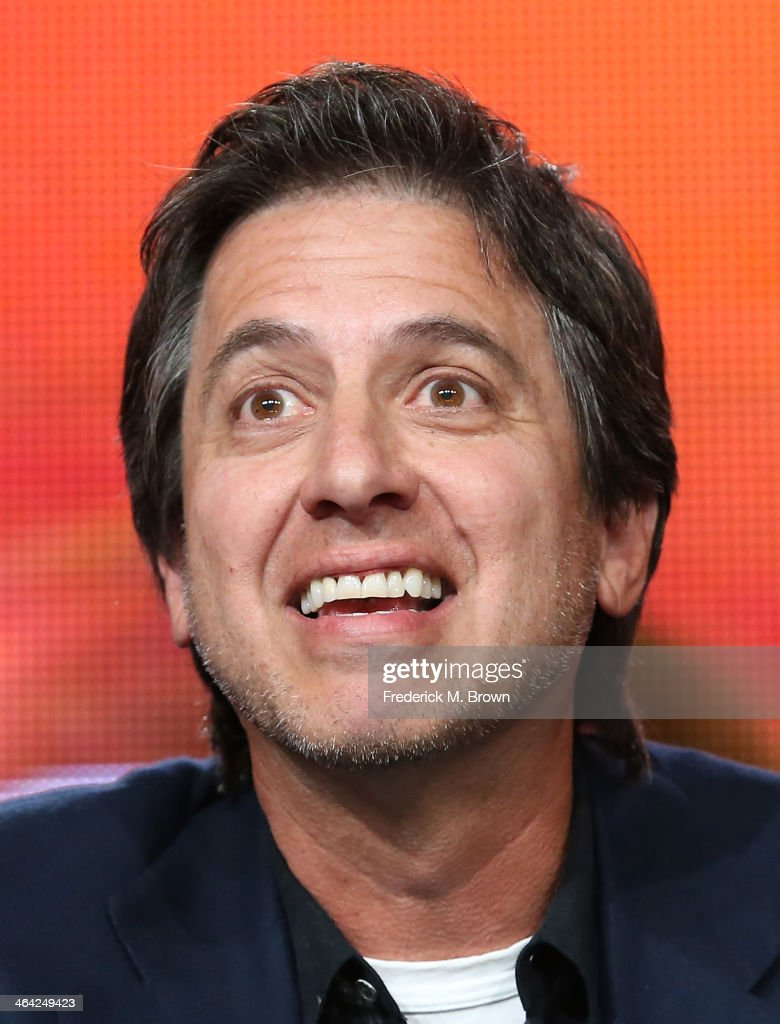 Actor <a gi-track='captionPersonalityLinkClicked' href=/galleries/search?phrase=Ray+Romano&family=editorial&specificpeople=201675 ng-click='$event.stopPropagation()'>Ray Romano</a> speaks onstage during the 'Pioneers of Television, Season 4, 'Acting Funny', 'Breaking Barriers', 'Doctors and Nurses', and 'Standup to Sitcom' ' panel discussion at the PBS portion of the 2014 Winter Television Critics Association tour at Langham Hotel on January 21, 2014 in Pasadena, California.