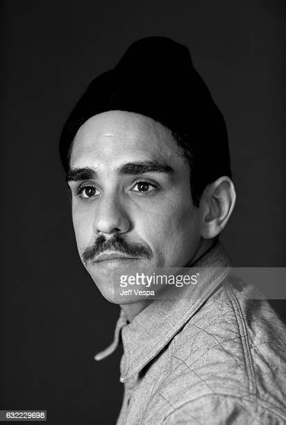 Actor Ray Santiago from the series 'Ash vs Evil Dead' poses for a portrait in the WireImage Portrait Studio presented by DIRECTV during the 2017...
