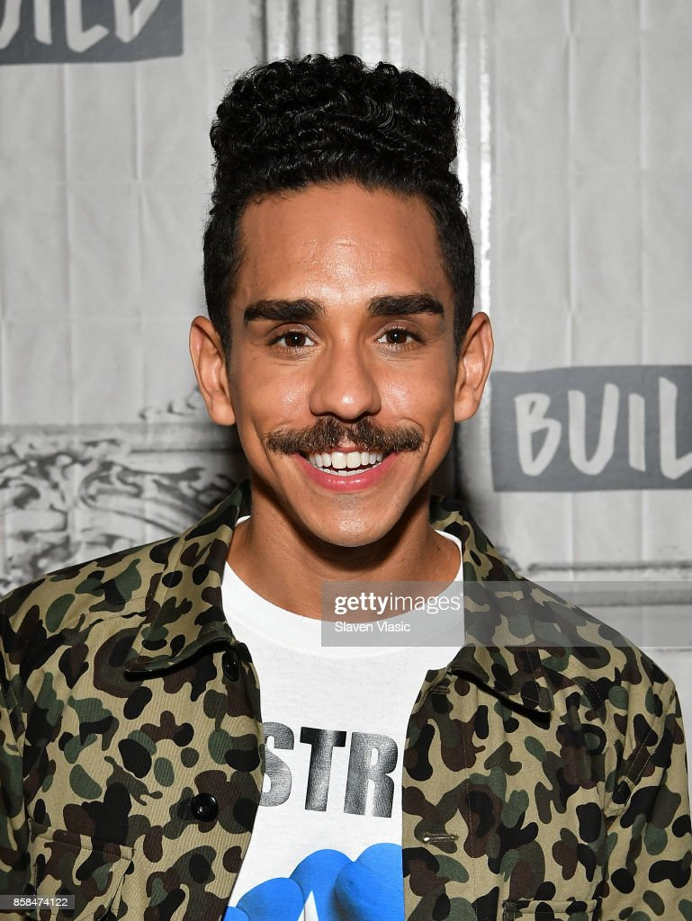 Actor Ray Santiago visits Build to discuss 'Ash Vs Evil Dead' at Build Studio on October 6, 2017 in New York City.