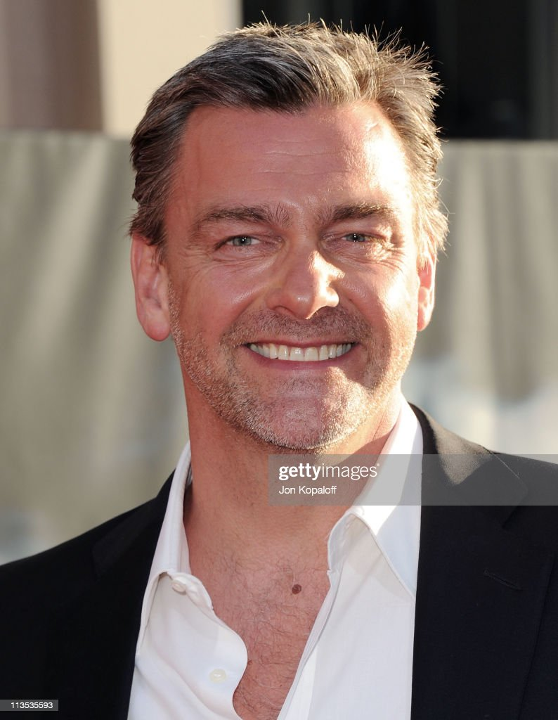 Actor Ray Stevenson arrives at the Los Angeles Premiere 'Thor' at the El Capitan Theatre on May 2 2011 in Hollywood California