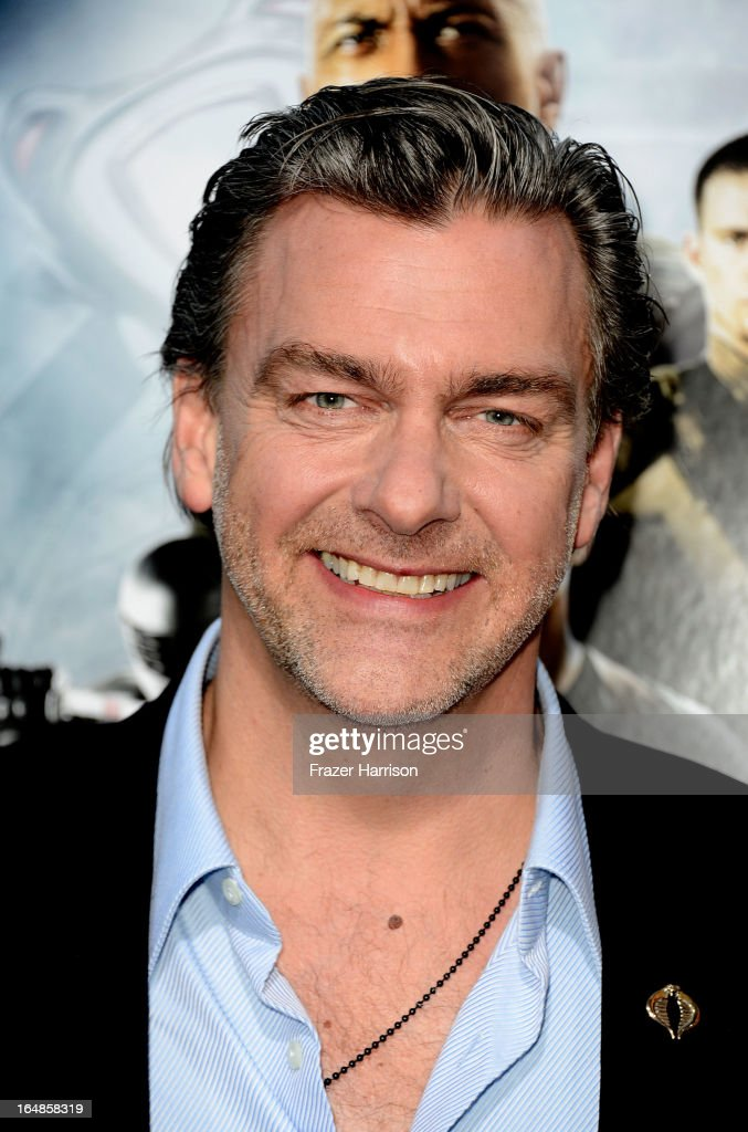 Actor Ray Stevenson arrives at the premiere of Paramount Pictures' 'GI Joe Retaliation' at TCL Chinese Theatre on March 28 2013 in Hollywood...