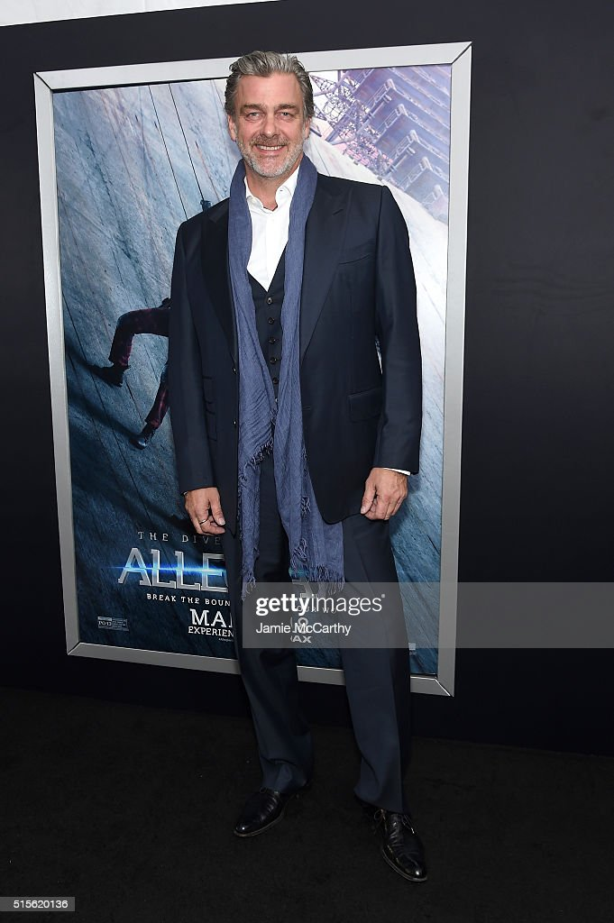 Actor Ray Stevenson attends the New York premiere of 'Allegiant' at the AMC Lincoln Square Theater on March 14 2016 in New York City