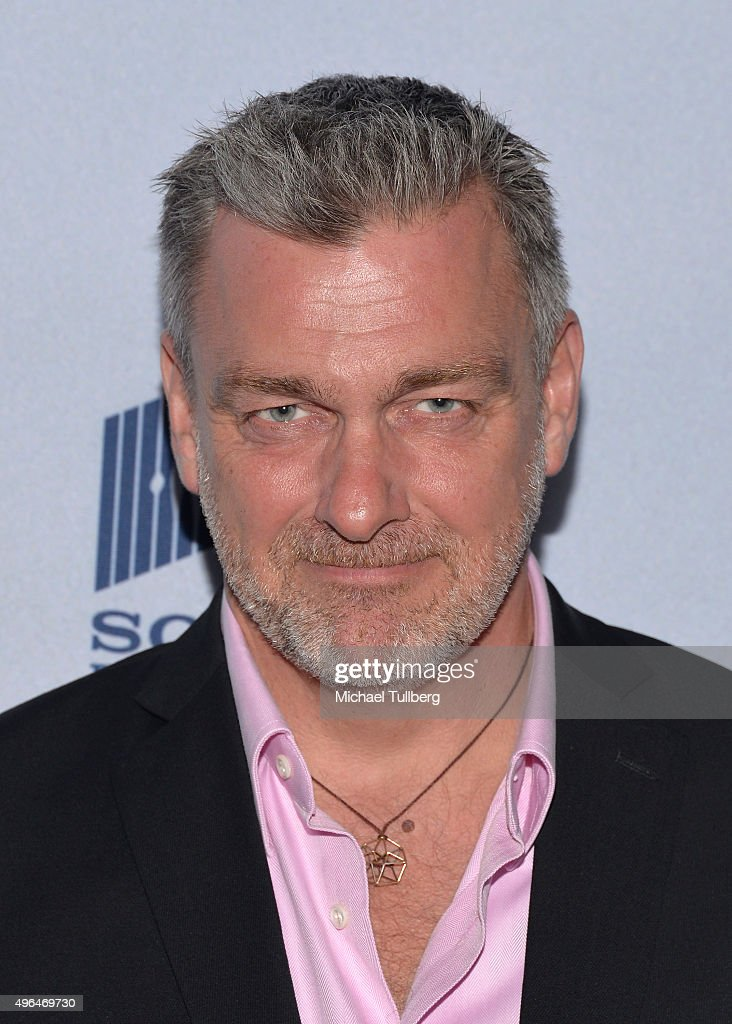 Actor Ray Stevenson attends the premiere of National Geographic Channel's 'Saints And Strangers' at Saban Theatre on November 9 2015 in Beverly Hills...