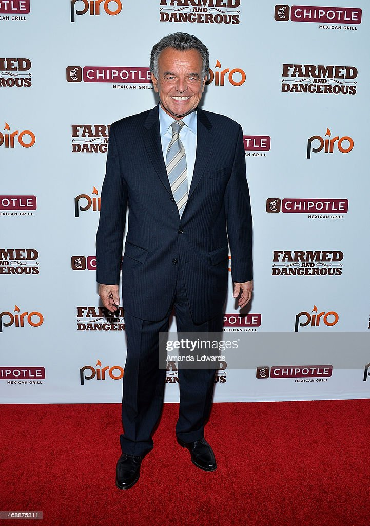 Actor <a gi-track='captionPersonalityLinkClicked' href=/galleries/search?phrase=Ray+Wise&family=editorial&specificpeople=540309 ng-click='$event.stopPropagation()'>Ray Wise</a> arrives at the Chipotle World Premiere of web series 'Farmed And Dangerous' at the DGA Theater on February 11, 2014 in Los Angeles, California.