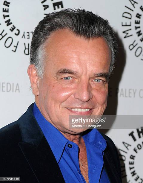 Actor Ray Wise arrives to The Paley Center For Media's presentation of a 'Psych' And 'Twin Peaks' Reunion on November 29 2010 in Beverly Hills...