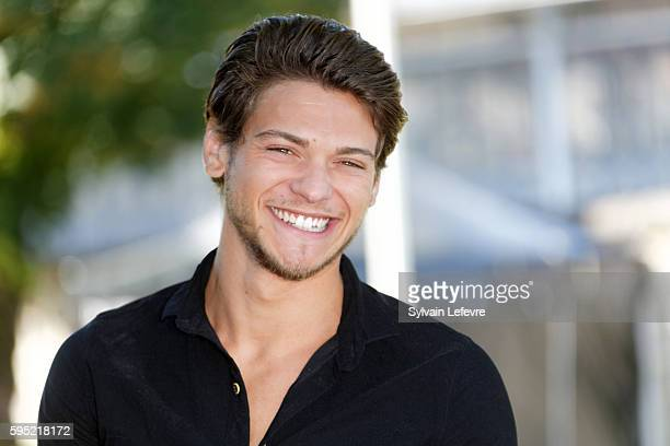 Actor Rayane Bensetti attends 9th Angouleme FrenchSpeaking Film Festival on August 25 2016 in Angouleme France