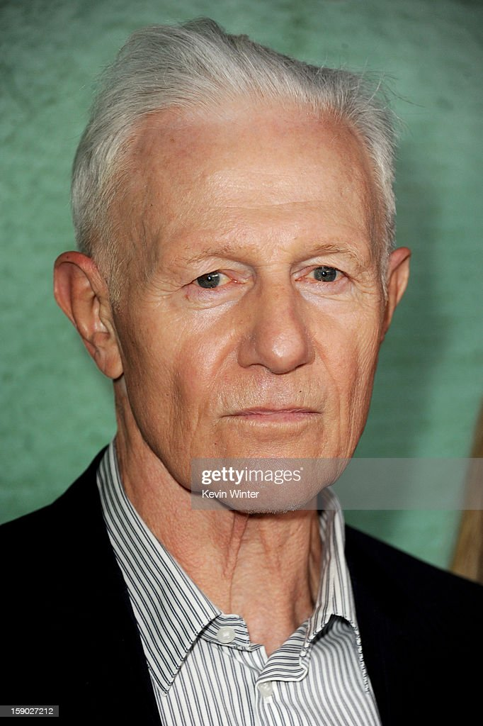 Actor Raymond Barry arrives at the premiere of FX's 'Justified' Season 4 at Paramount Studios on January 5, 2013 in Los Angeles, California.