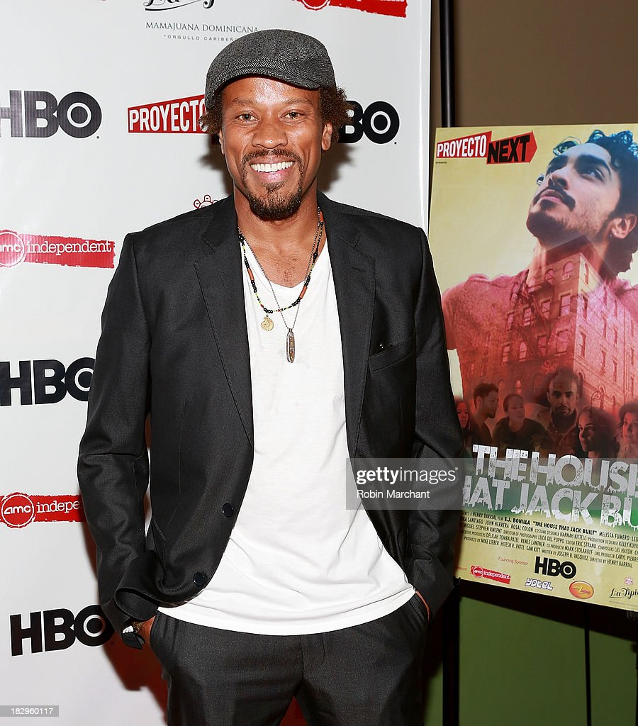 Actor Raymond T. Williams attends the premiere of the 'The House That Jack Built' at AMC Empire 25 theater on October 2, 2013 in New York City.