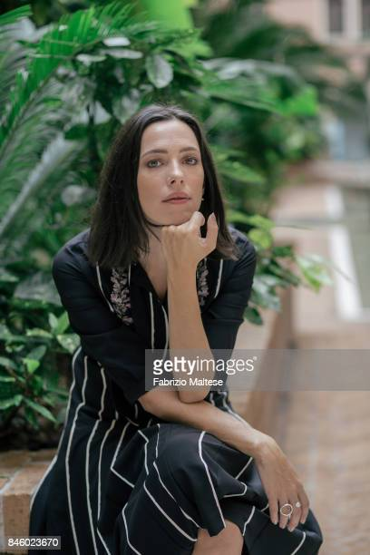Actor Rebecca Hall is photographed on September 7 2017 in Venice Italy