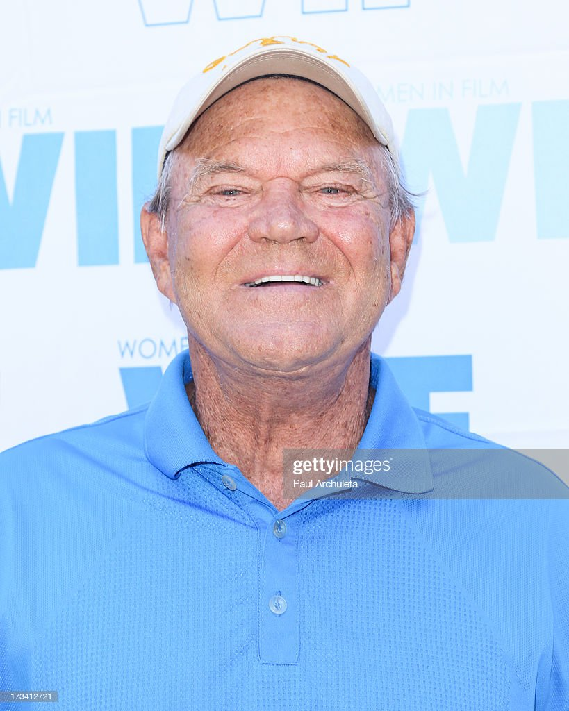 Actor / Recording Artist <a gi-track='captionPersonalityLinkClicked' href=/galleries/search?phrase=Glen+Campbell&family=editorial&specificpeople=216545 ng-click='$event.stopPropagation()'>Glen Campbell</a> attends the Women In Film's 16th annual Malibu Celebrity Golf Classic on July 13, 2013 in Malibu, California.