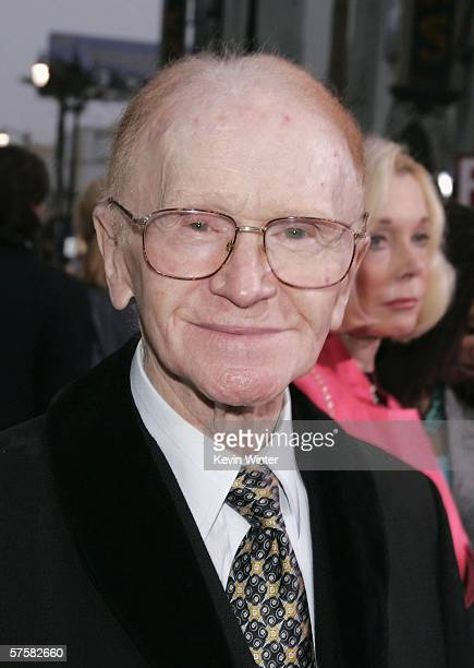 Actor Red Buttons arrives at the premiere of Warner Bros Pictures' 'Poseidon' at Grauman's Chinese Theater on May 10 2006 in Los Angeles California