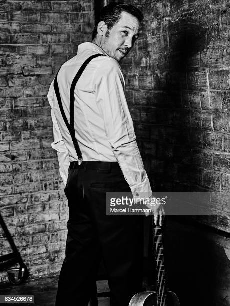 Actor Reda Kateb is photographed for Self Assignment on January 19 2017 in Paris France