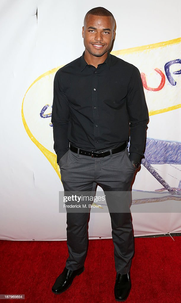 Actor Redarick Williams attends the 'Stand Up For Gus' Benefit at Bootsy Bellows on November 13, 2013 in West Hollywood, California.