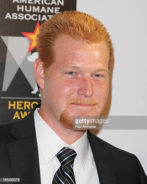 Actor Redmond O'Neal attends the 3rd annual American Humane Association Hero Dog Awards at The Beverly Hilton Hotel on October 5 2013 in Beverly...